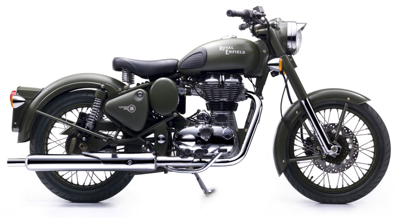 Royal Enfield Classic Battle Green