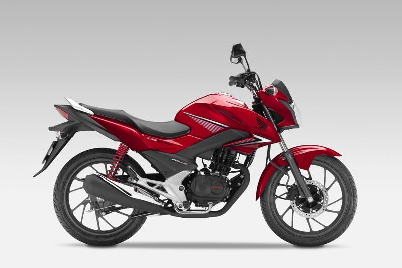 Precios del Honda CB125 F