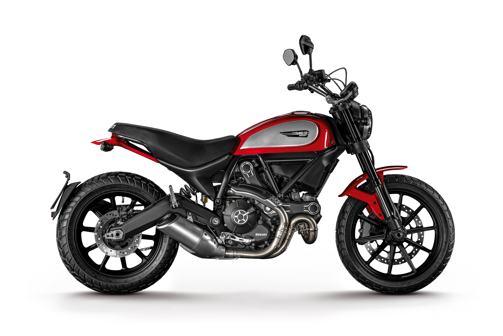 Scrambler Ducati Icon Red