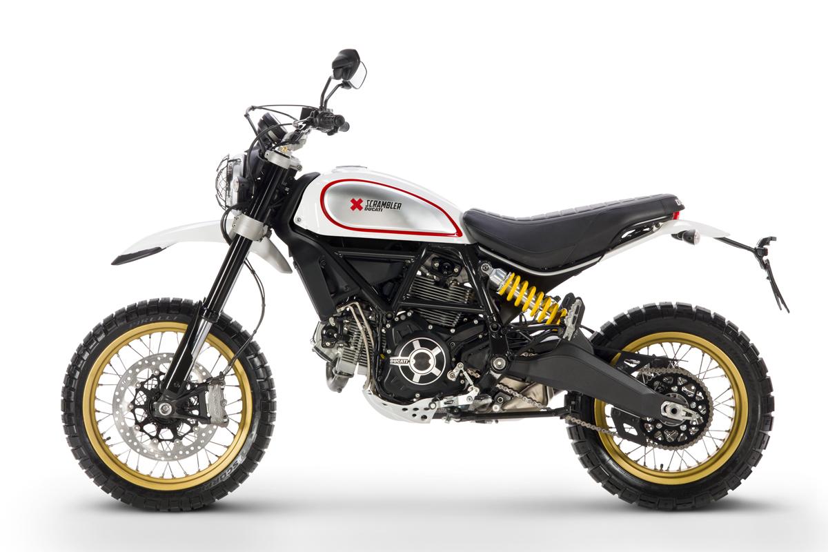 Precios de Scrambler Ducati Desert Sled White