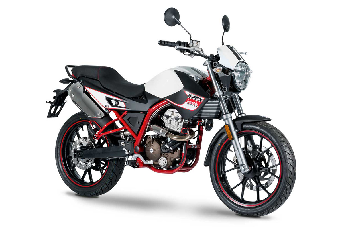 UM Motorcycles Scrambler S