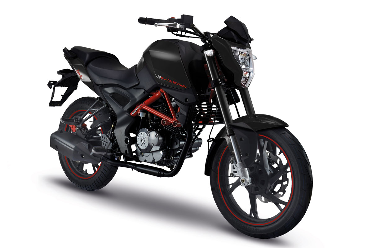 KSR GRS 125 Black Edition