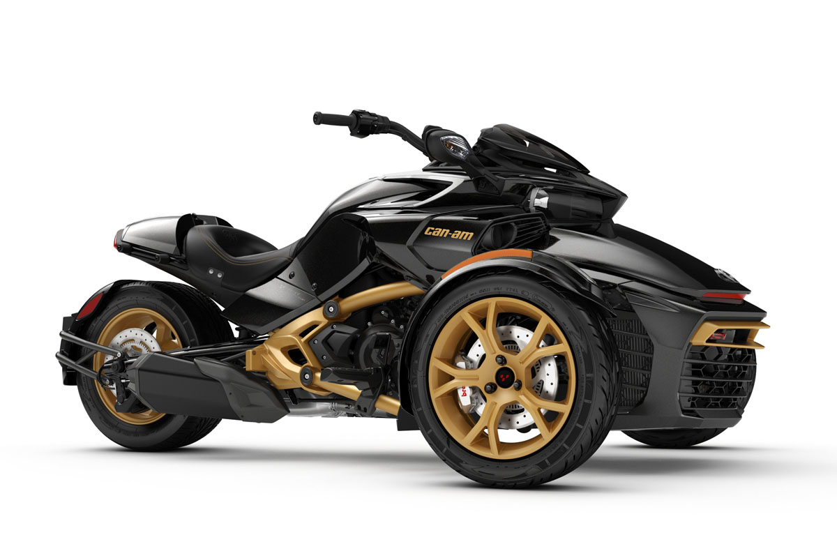 Can-Am Spyder F3-S 10 Aniversario