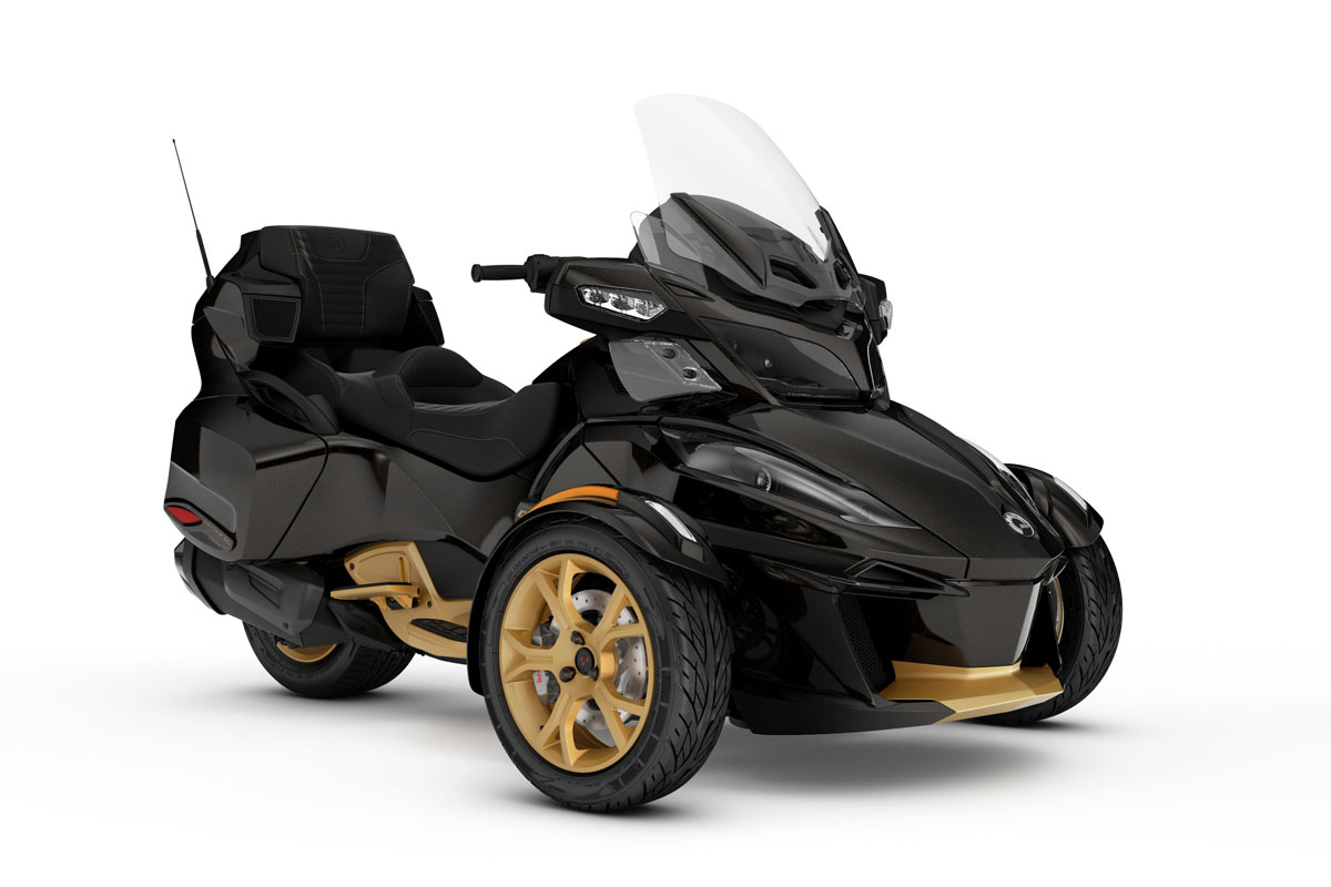 Can-Am Spyder RT Limited 10 Aniversario