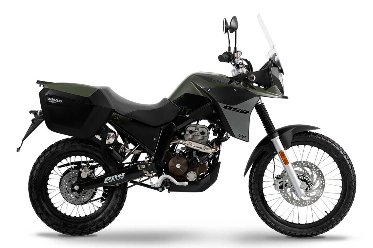 UM Motorcycles DSR Adventure TT Tourer