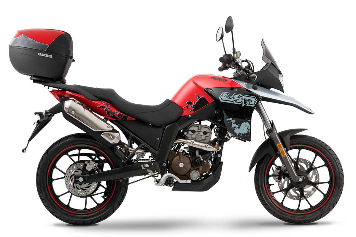 UM Motorcycles DSR Adventure Urban