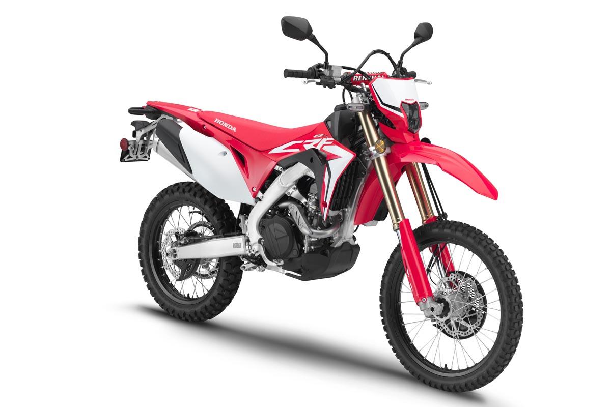 Precios del Honda CRF450 L