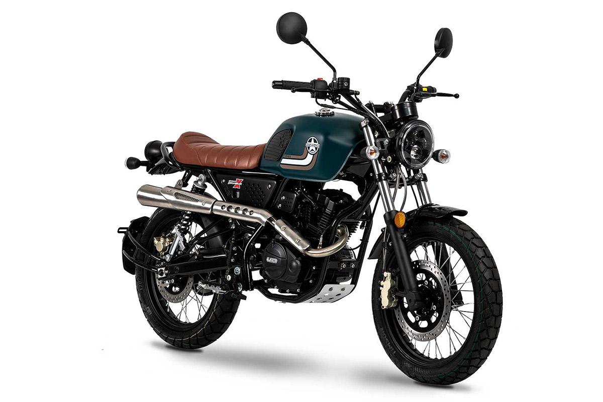 UM Motorcycles Scrambler X Naked