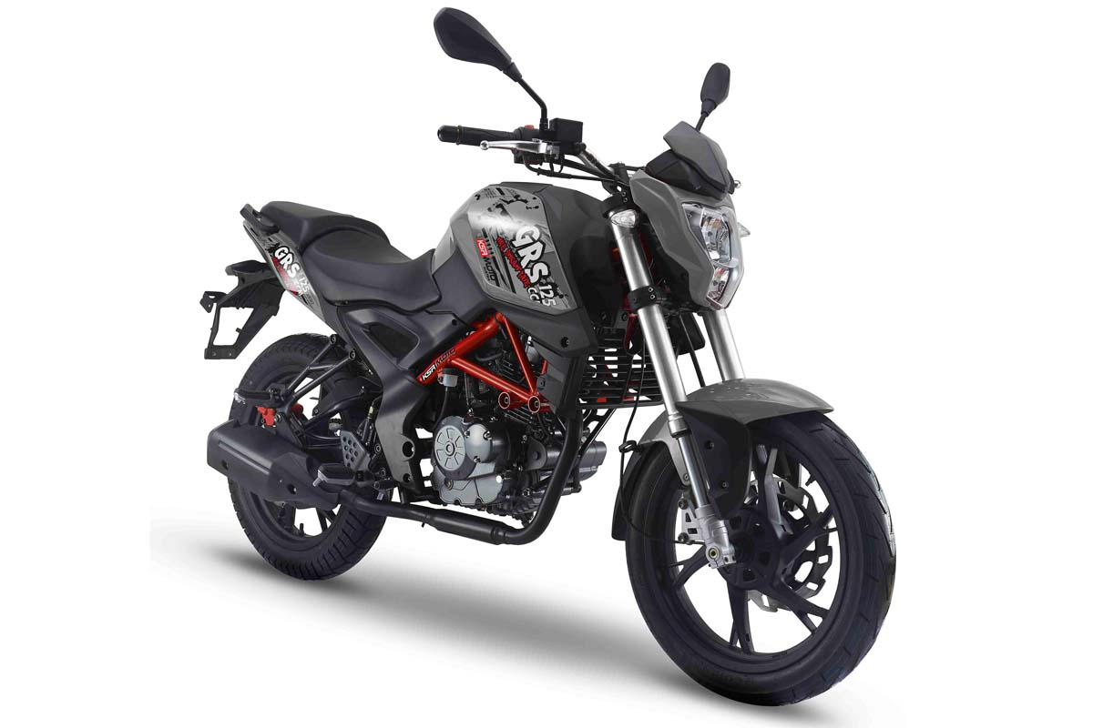 KSR GRS 125 Gunmetal Grey Limited Edition