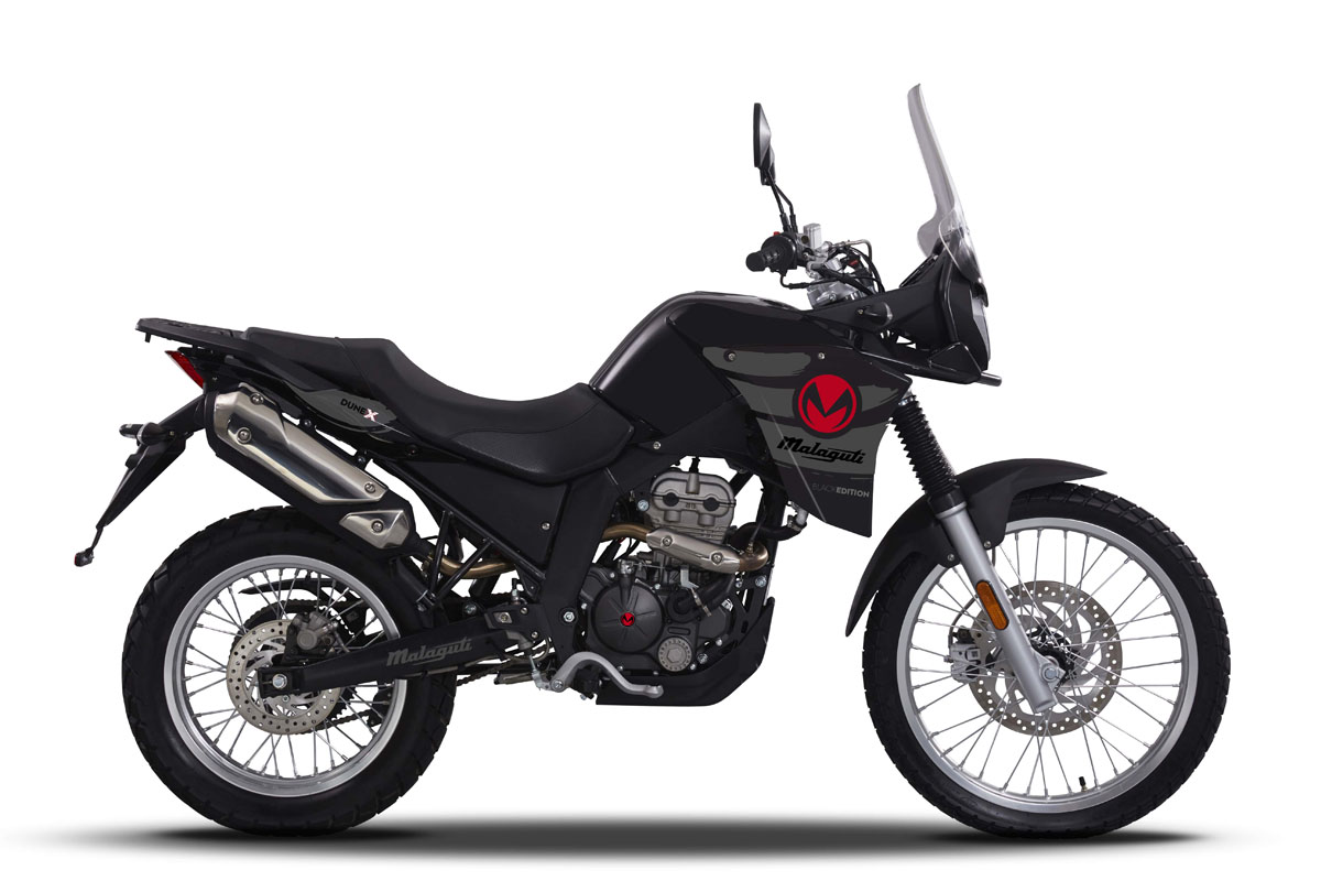 Malaguti Dune 125X Black Edition