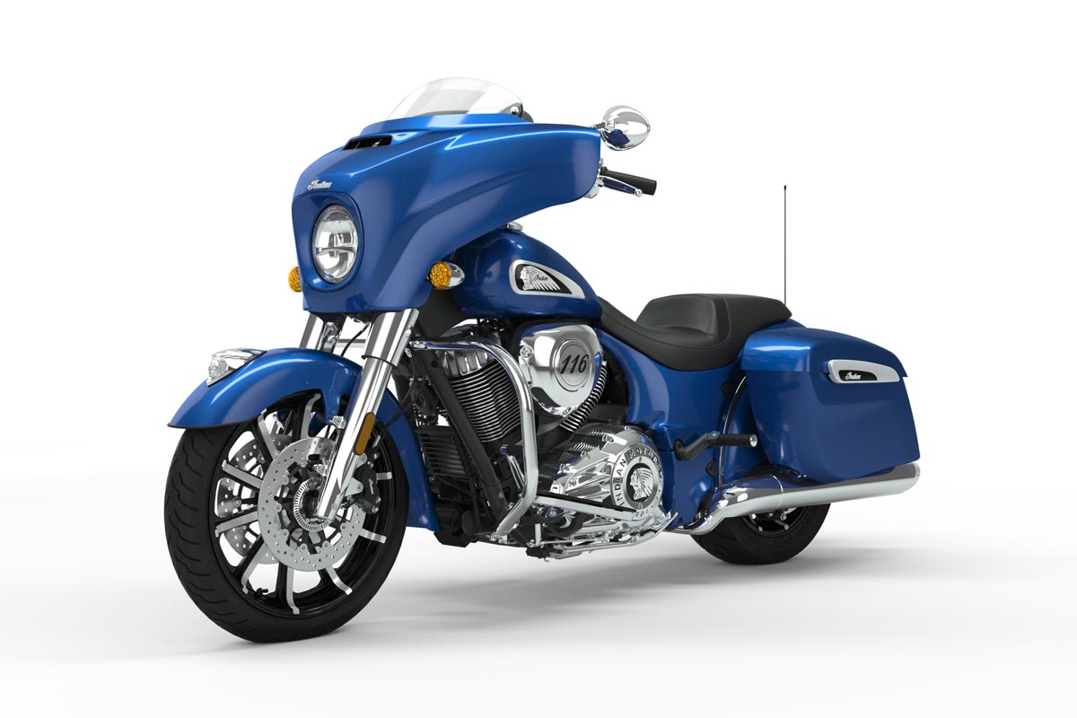 Precios del Indian Chieftain Limited