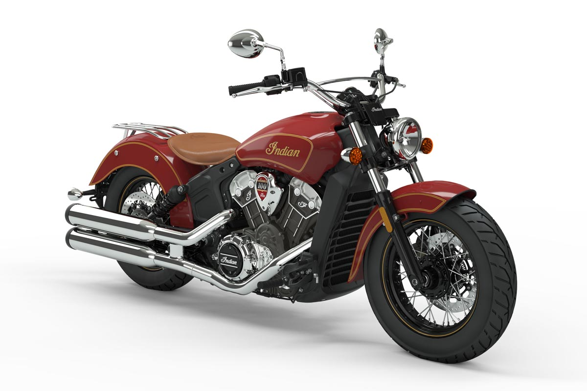 Indian Scout 100 Anniversary