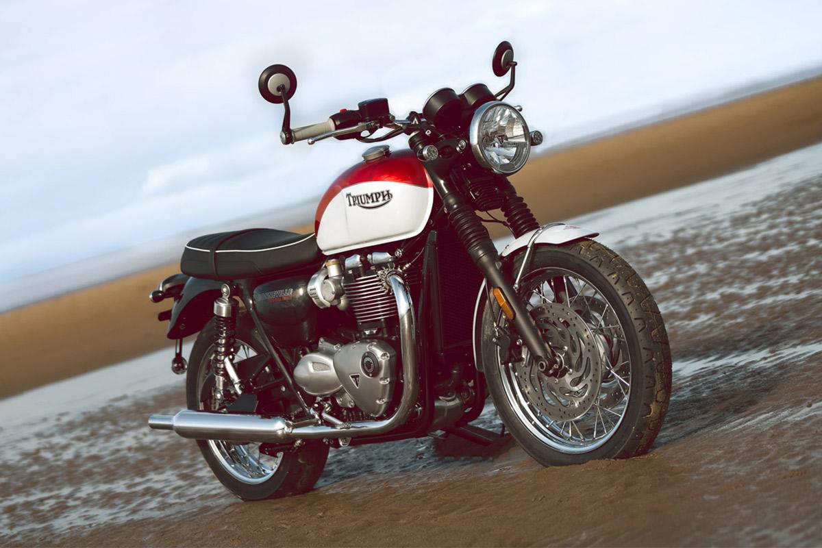 Triumph Bonneville T120 Bud Ekins