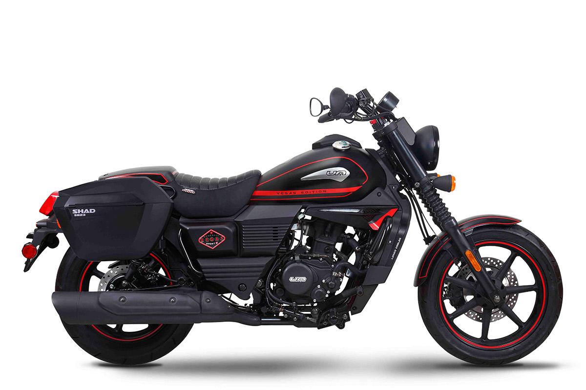UM Motorcycles Renegade Vegas Tourer