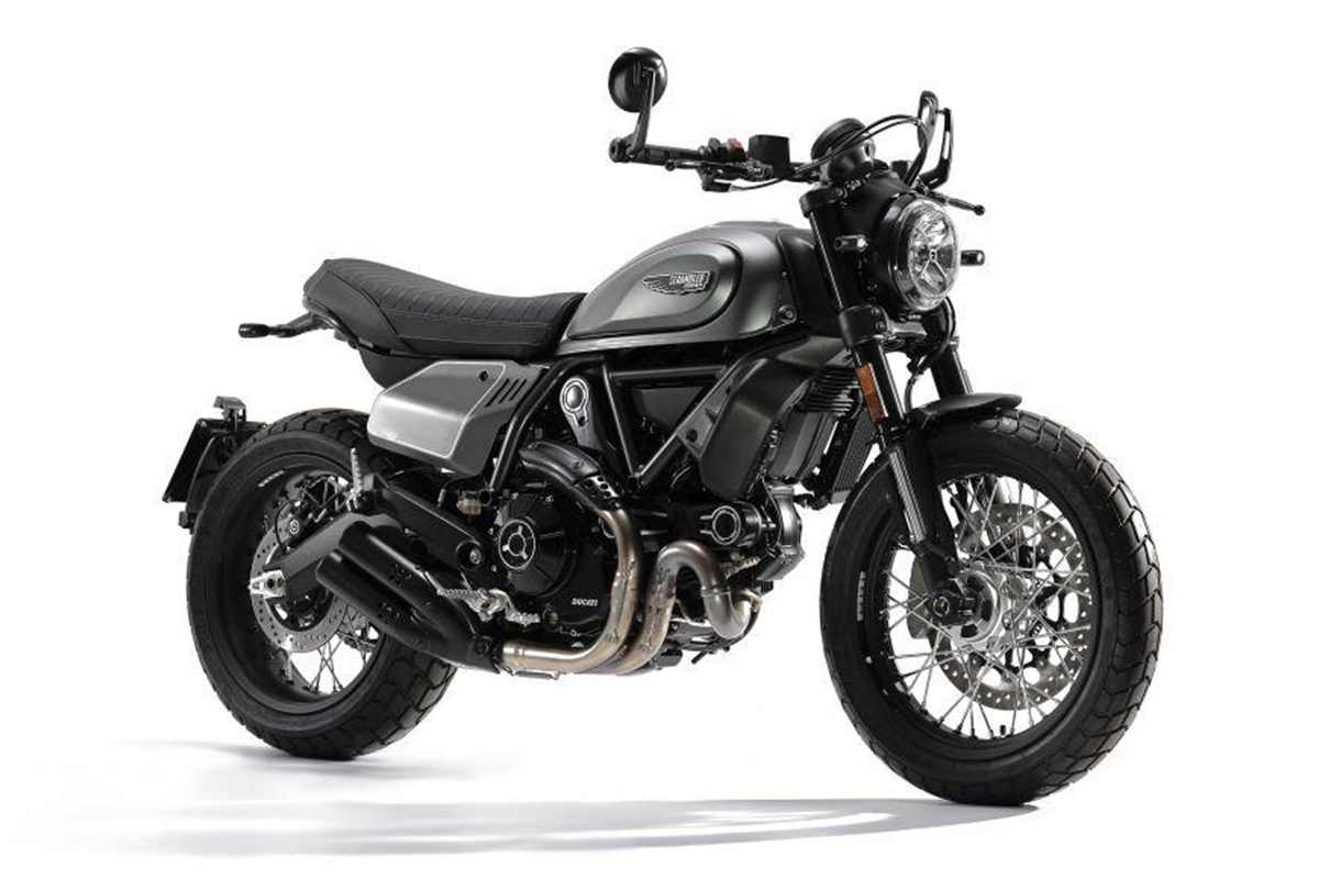 Scrambler Ducati Night Shift