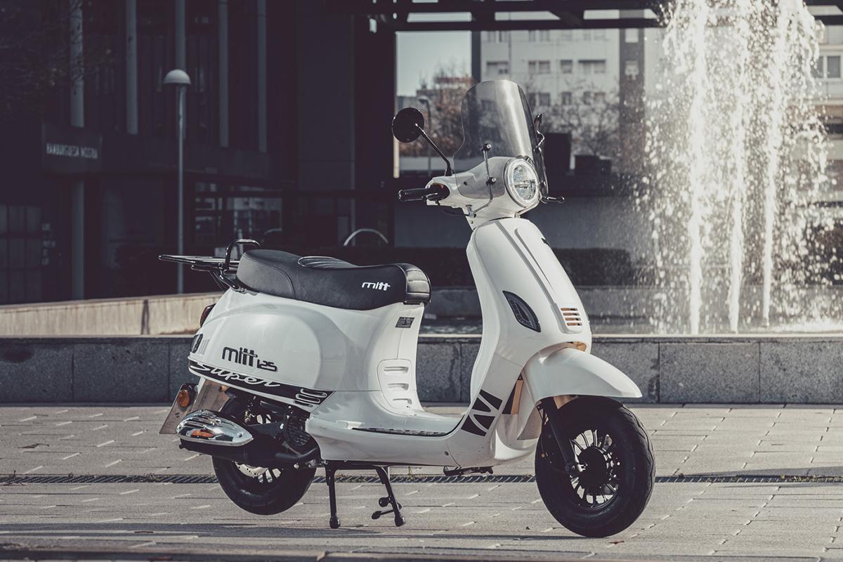 MITT 125 RT Super Sport White